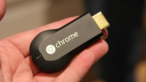 Chromecast foi lançado nos EUA no ano passado