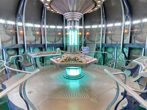 TARDIS pode ser vista de todos os ângulos