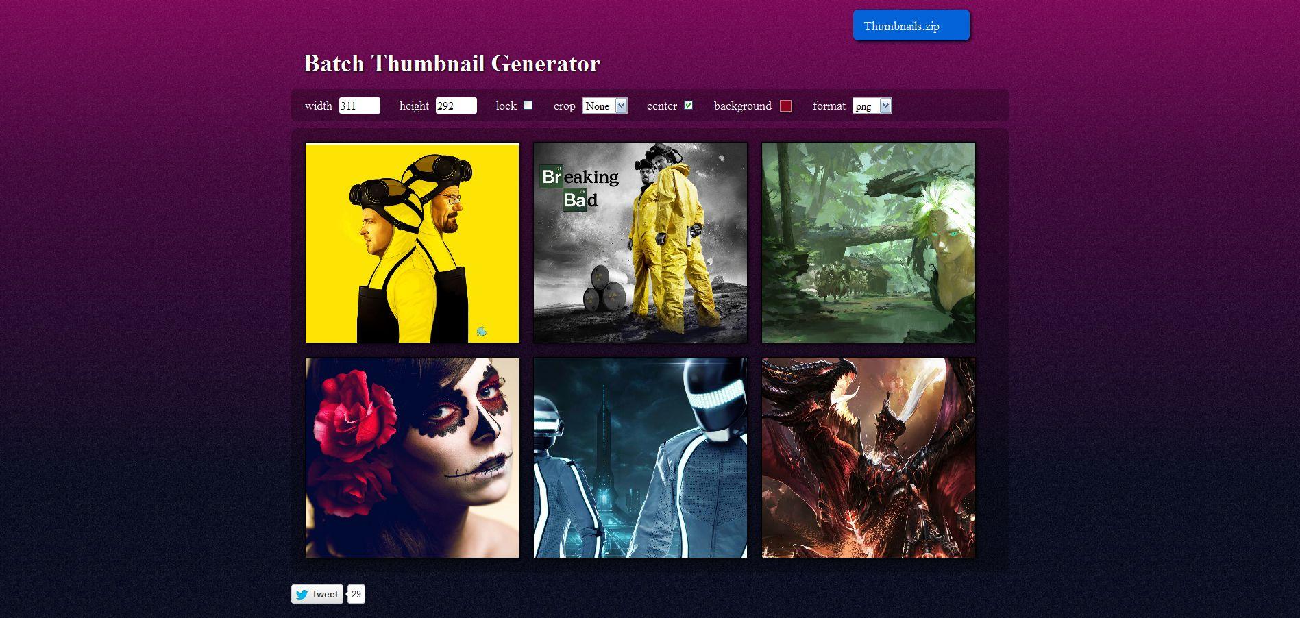 Thumbnail-Generator