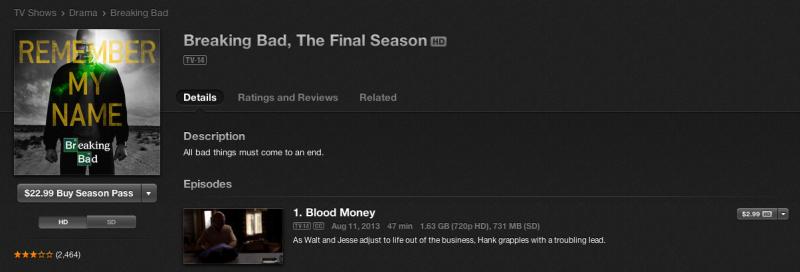 Apple promete acesso à quinta temporada por US$ 22,99