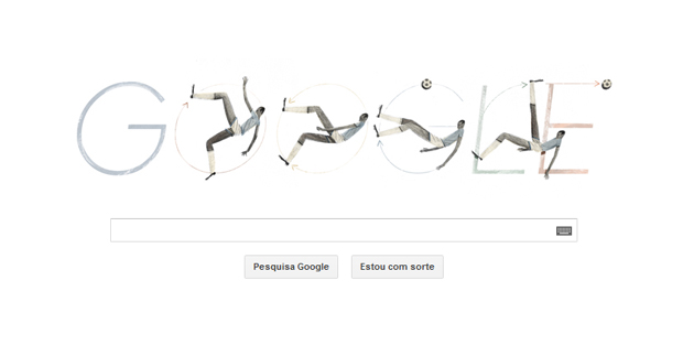 Doodle homenageia jogador carioca