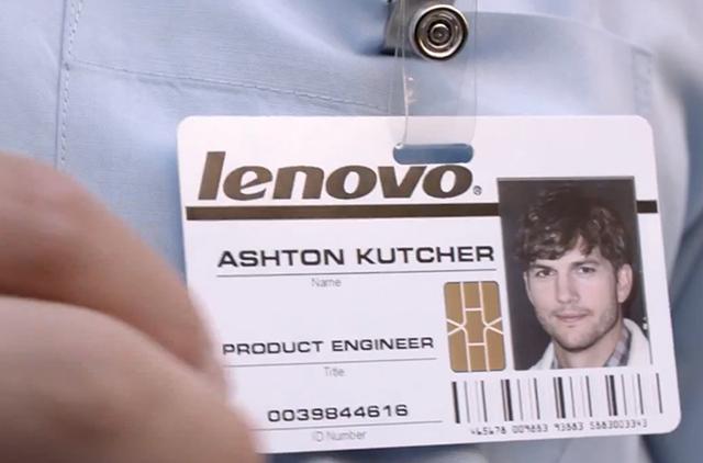 Ator trabalhará em linha de tablets da Lenovo