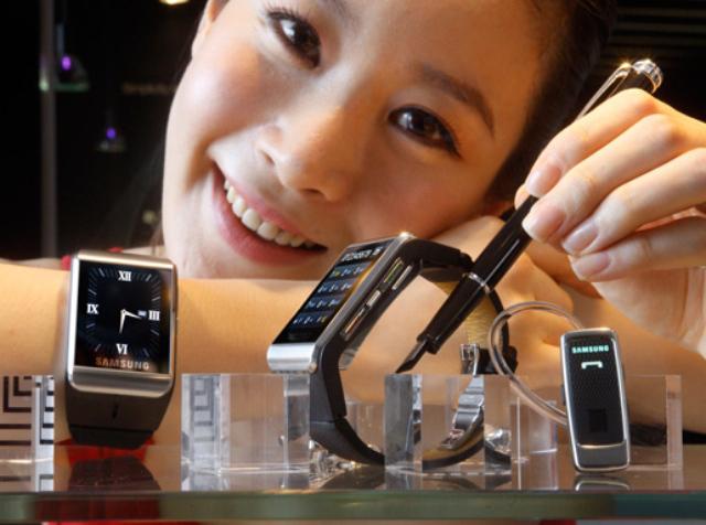 Mercado de smartwatch já conta com Sony e Samsung
