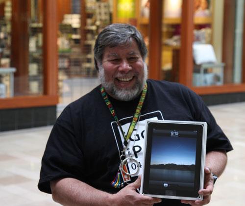 Steve queria mais armazenamento para seu iPad