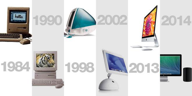 Mac completou 30 anos em janeiro