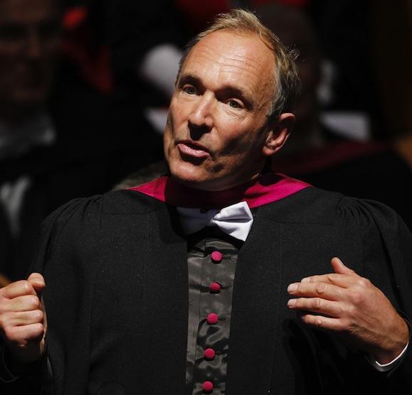 Berners-Lee deu o ponta pé inicial na criação do que vemos hoje na internet