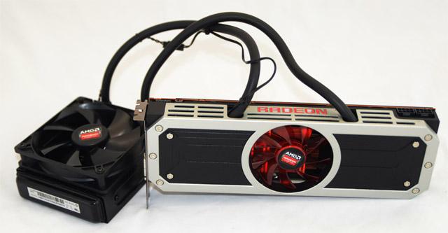 AMD Radeon R9 295X2, considerada a mais rápida do mundo.