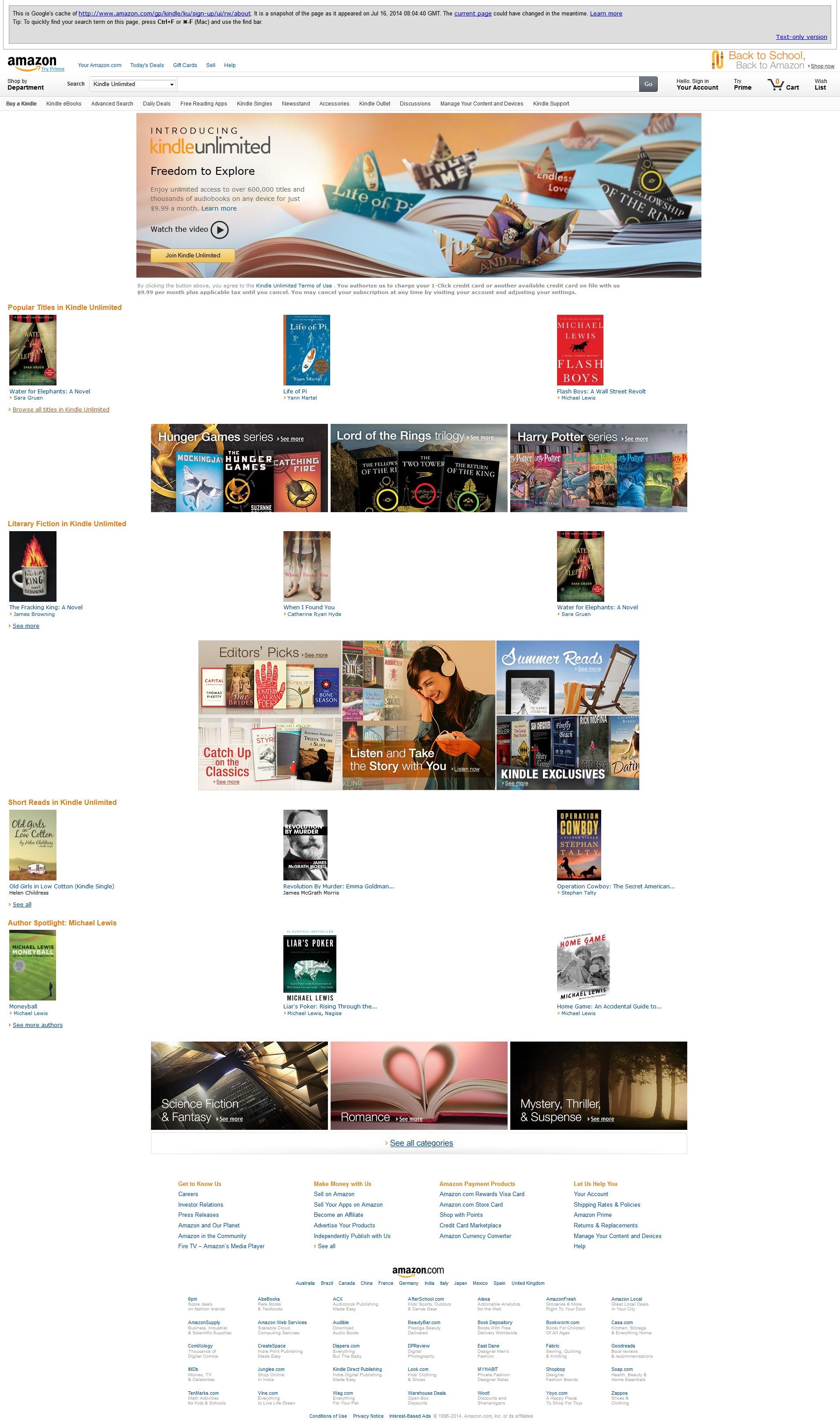 Vaza serviço de assinaturas de e-books da Amazon – Código ... - photo#48