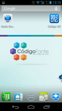 Widget do Baidu Browser