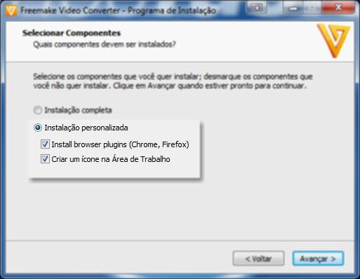 Freemake Video Converter - Instalação