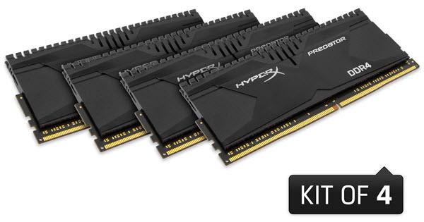 Memórias HyperX Predator DDR4