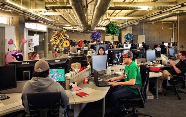 Equipe de Desenvolvimento da Zynga (Produtora de Jogos Casuais)