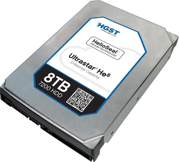 HD Western Digital Ultrastar He8
