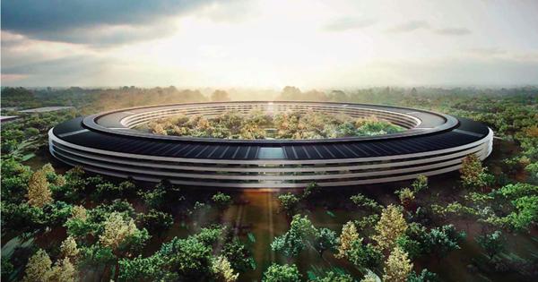 Campus 2 - Modelo oficialmente revelado pela Apple