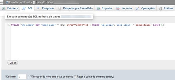 query MySQL phpMyAdmin