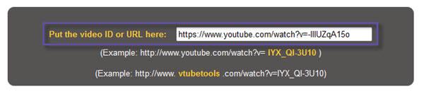 Vtubetools URL