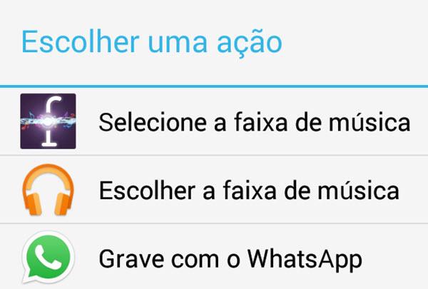 WhatsApp Compartilhando Conteudo