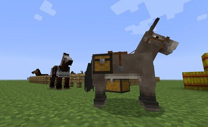 minecraft-donkey