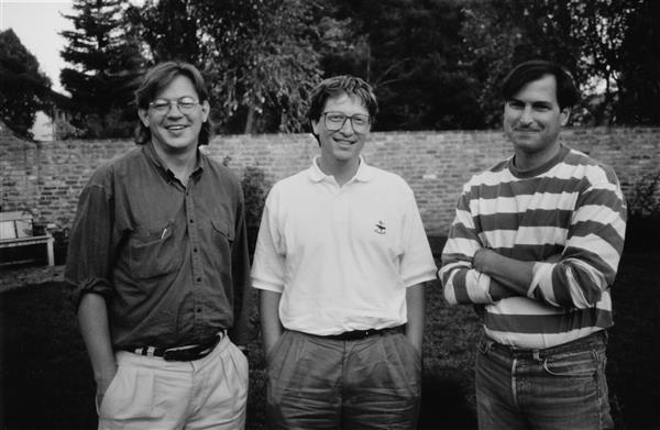 Brent Schlender Bill Gates e Steve Jobs