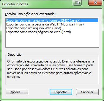 Evernote - Backup