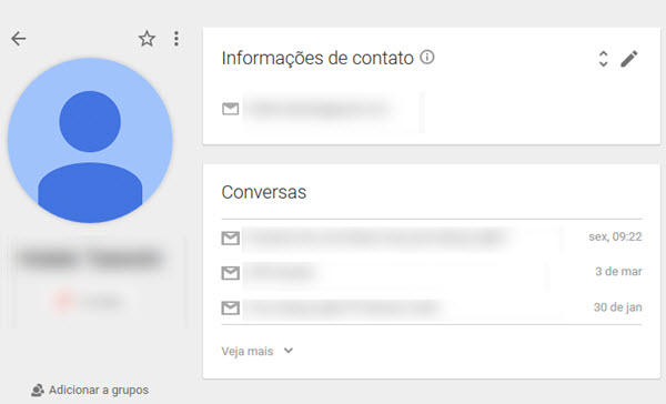 Google - Contatos