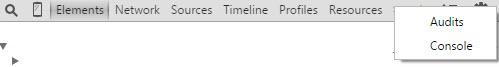 Google Chrome - Ferramentas Desenvolvedores