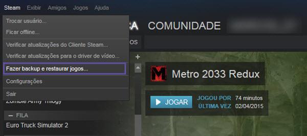 Steam - Backup
