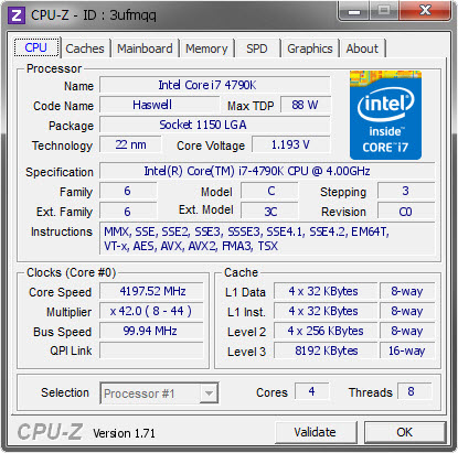 CPU-Z Windows