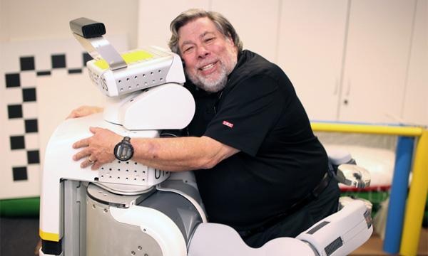 Wozniak faz as pazes com os robôs