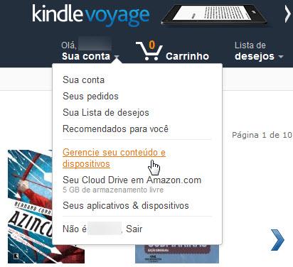 Amazon - Conta