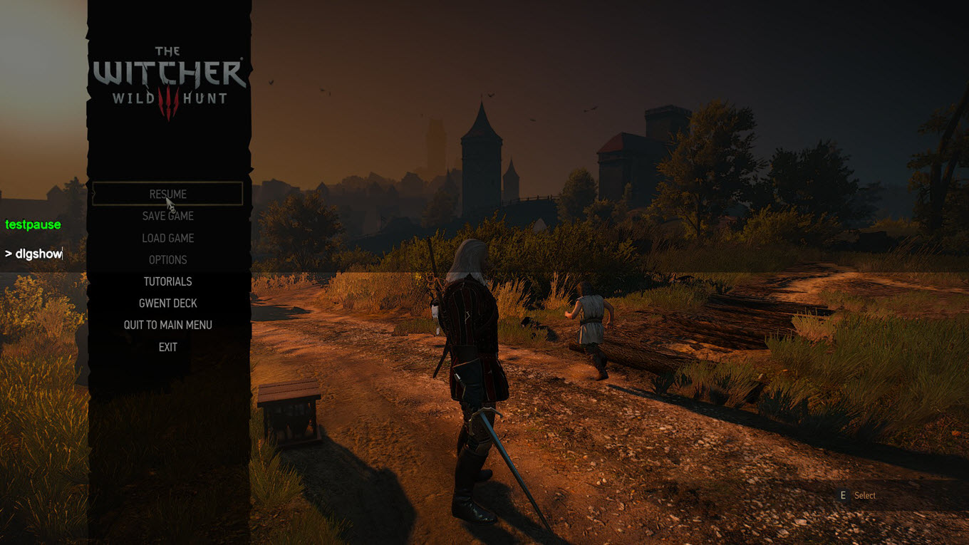 The Witcher 3 - Console