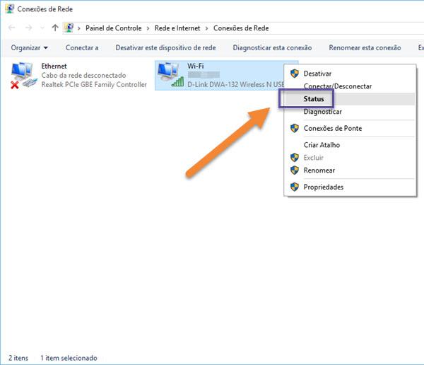 Windows 10 - Configurações - Rede - Internet - Wi-Fi