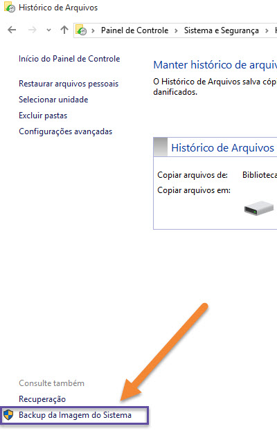 Windows 10 - Imagem do sistema