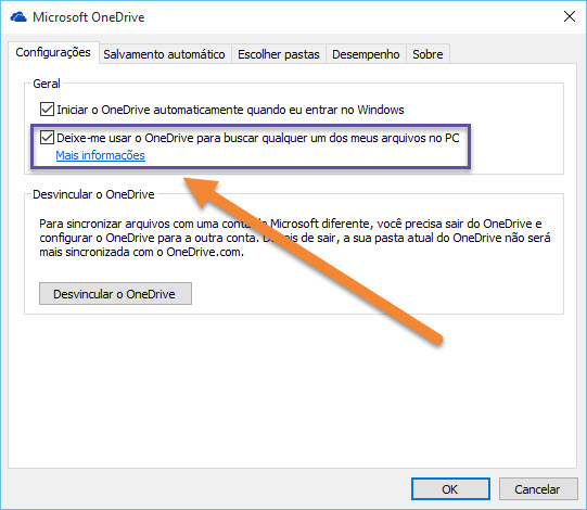 Windows 10 - OneDrive