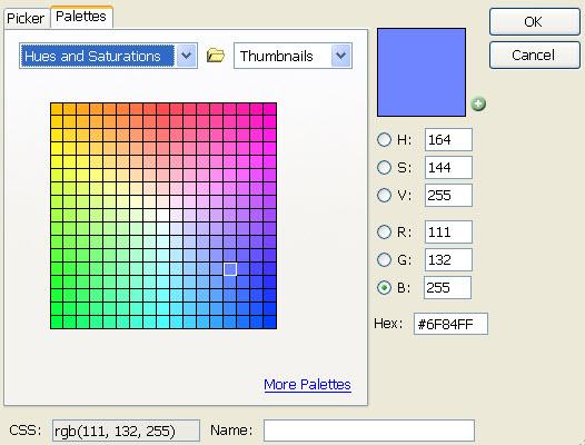 Extensão Firefox - ColorZilla