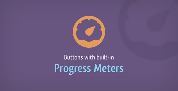 Jquery - Buttons With Built-in Progress
