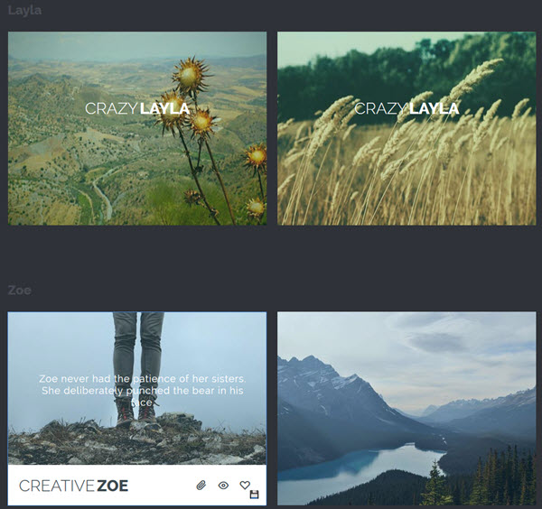 Jquery - Ideas for Subtle Hover Effect