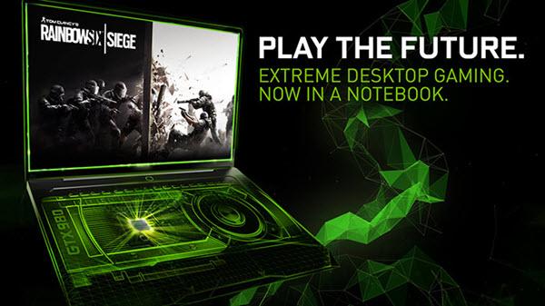 Nvidia Notebooks GTX 980