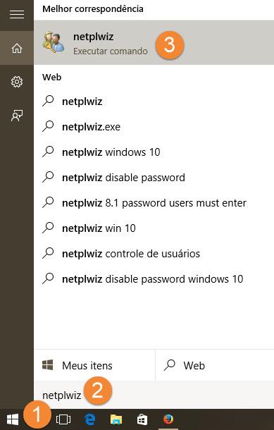 Windows 10 - Login automático