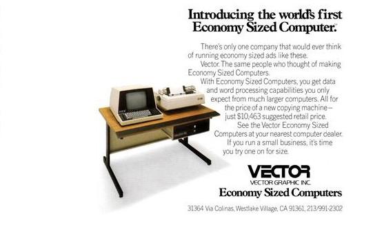 Anuncio do Vector