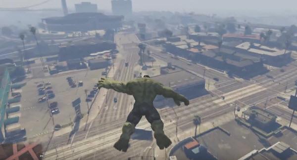 GTA V - Hulk Mod