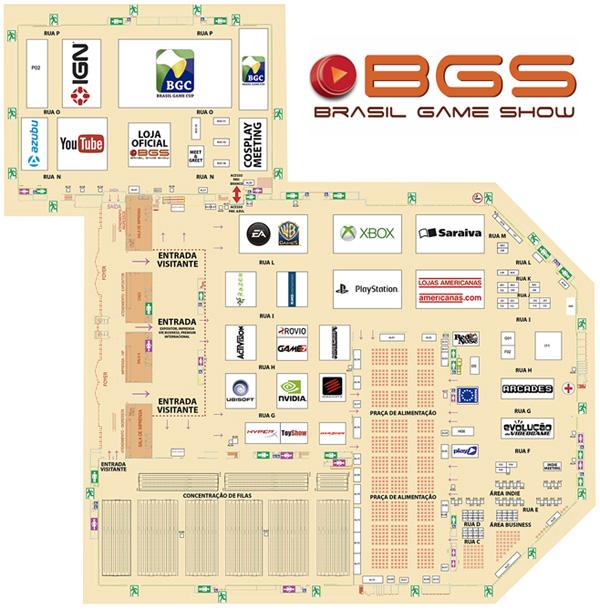 Mapa BGS2015