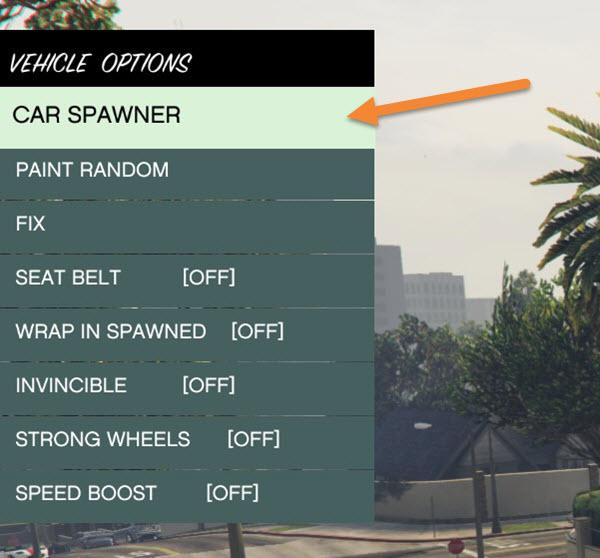 GTA V - Native Trainer