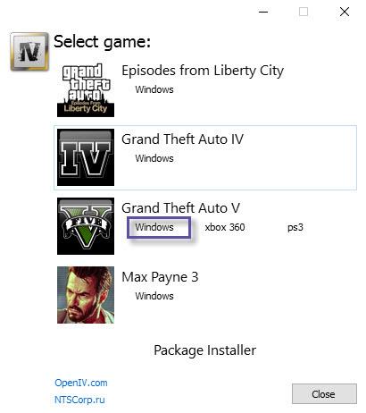 GTA V - Open IV