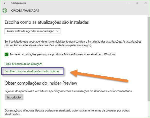 Windows 10 - Atualização e segurança