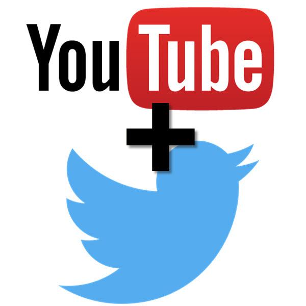 Youtube + Twitter
