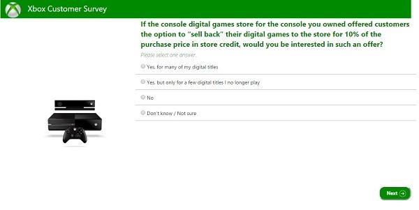 Microsoft - Pesquisa - Devolução de games digitais