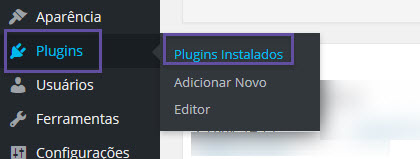 WordPress - Desinstalando plugins