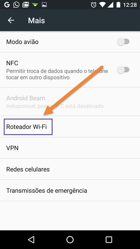 Android - Configurações