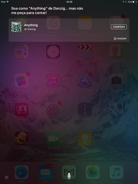 iOS - Siri - Identificando músicas